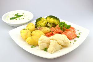 Gemüse mit Kartoffeln