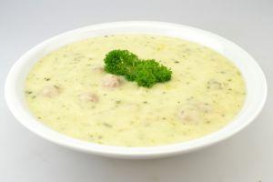 Suppe aus Zucchini